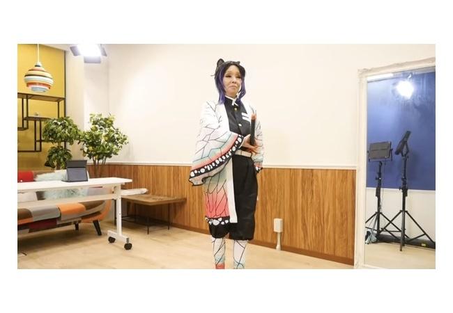 【鬼滅】研ナオコさん、胡蝶しのぶのコスプレをした結果wwwww