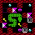 宝石を集めるスネークパズル PuzzleSnake13k