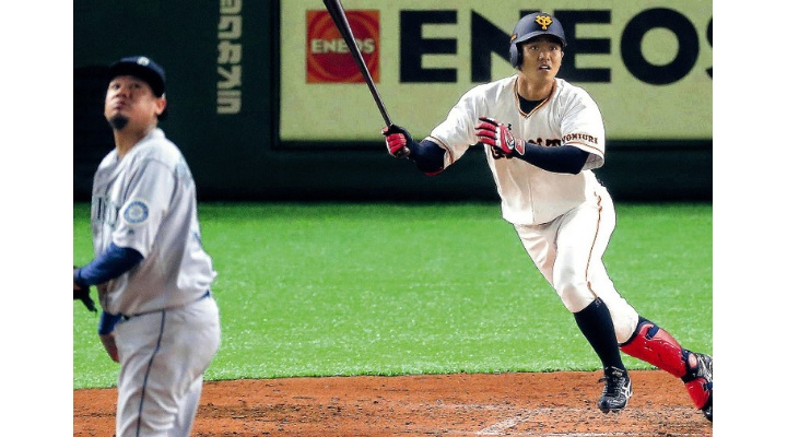 報知「巨人・田中俊、三塁スタメンに急浮上!」