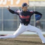 『【野球】ヤクルトD3・秋吉、3奪三振に「狙っているので」』の画像