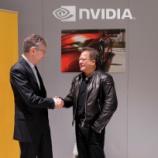 『nVIDIA(NVDA)、コンチネンタル社と提携、調整後に年初来高値$250に到達!』の画像