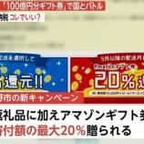 『【朗報】Amazonギフト券20%還元のふるさと納税で話題の大阪泉佐野市に勝る、413.8%の高リターンを叩き出した神商品を紹介します。』の画像