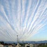 【西日本終了】高知県で気持ち悪い地震雲が発生ww