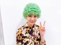 【乃木坂46】賀喜遥香、緑色に髪を染めてパンチパーマをかけた模様wwwwwwww