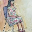 ●美人画の日 -少女ー