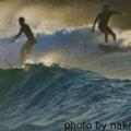 ロングビーチのサーフィン