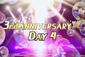 【ミリシタ】3rd ANNIVERSARY DAY4は桃子、真、このみ、麗花!