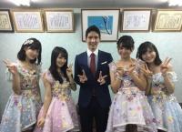 沖縄にてチーム8宮里莉羅が先輩メンバーとともに総選挙をPR!宮里莉羅、谷口めぐの身長を抜く