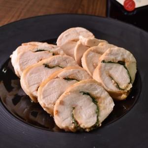 紫蘇が香る♪鶏むね肉の味噌ロール