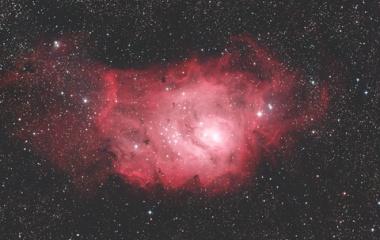 『いて座の干潟星雲(M8、NGC6523)☆彡』の画像