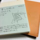 『ミドリ「MD付せん紙」A7 に、RHODIA「メモパッド No.11」 のカバーがピッタリ(?)だった』の画像