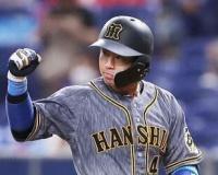 2軍の阪神梅野、12日ぶり実戦3打数3安打1打点。