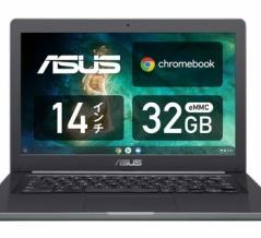 14インチで耐衝撃「ASUS Chromebook C403SA」がクーポン利用で税込み3万1800円【Amazon】