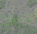 「自宅にとどまって」、操縦士が空に文字描く オーストリア