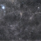 『おひつじ座付近の分子雲』の画像