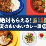 『【マイレージキャンペーン】「金麦」と、「ジャワカレー」「こくまろカレー」で「絶対もらえる!夏のあいあいカレー皿」今年も!』の画像