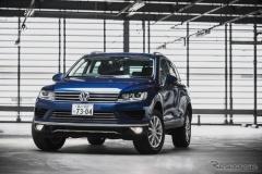 VW トゥアレグ 新型…フェイスリフトしたフラッグシップSUV