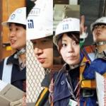 女性の進出が遅れ、人手不足に悩む建設業