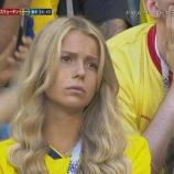 『W杯・スウェーデン敗退・・・落胆するサポーター席の『ある写真』を合成したらもの凄いことにwwwwww』の画像