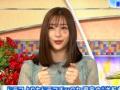 【悲報】足立梨花さん、土曜スタジオパークに顔に痣を2箇所つけて出演