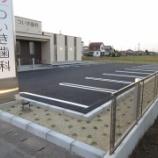 『岐阜県羽島市 歯科医院駐車場 アスファルト舗装工事 施工事例』の画像