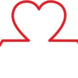 『心臓の若さ:男性と女性の心臓』の画像