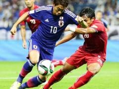 【動画】日本×カンボジア、前半終了!本田の強烈ミドルで先制!1-0で折り返す!