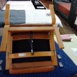 『フジファニチャーのパーソナルチェア・P415の脚の裏にパンチ絨毯』の画像