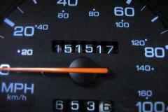 今までの愛車で積算距離なん万キロまでいった事ある?