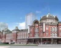 『東京駅丸の内駅舎復原完成まであと1年』の画像