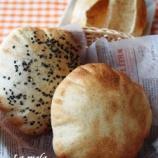 『ピタと黒ゴマ食パン』の画像