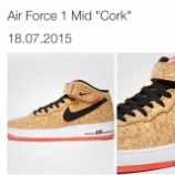 『訂正:7/18 発売 NIKE AIR FORCE 1 MID CORK』の画像