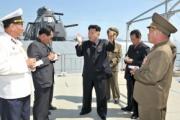 北朝鮮軍「オリジナリティがあふれる朝鮮式」半潜水の高速ステルス戦艦を建造?