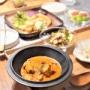 鶏胸肉柔らかジューシー♪お店の味!カチャトーラの【セリア】テーブルコーデ晩御飯
