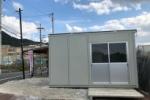 神宮寺ぶどう狩りの受付小屋が新しくなって登場!〜コンパクトで機能的なデザインに〜
