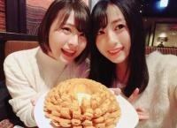 佐々木優佳里と佐藤栞が一緒に食事と映画デートへ