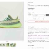 『アローズオンライン adidas(アディダス)YEEZY 350 V2 YEEZREEL■■■』の画像