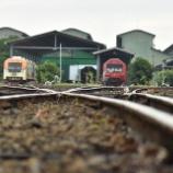『【ついに電化工事着工】ジョグジャカルタ工場先週末のゲート前』の画像