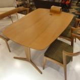『【北欧テイスト・日進木工の家具2012】geppoシリーズのシートベンチ・NFC-781』の画像