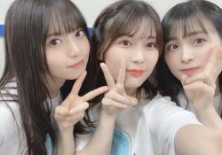 可愛さ大渋滞! 齋藤飛鳥&岩本蓮加&大園桃子、微笑みの3ショット!!!