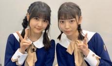 【乃木坂46】中村麗乃と阪口珠美のお揃い三つ編みおさげが可愛すぎ!