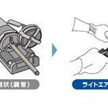 『仮設配管の手軽さで施工できる配管』の画像