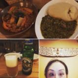『今夜の「ただ単にアフリカ料理を食べて楽しく過ごす会」』の画像