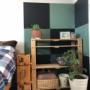 鬼滅の刃が好き♡壁紙シールで市松模様を簡単DIY