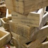 『樽材の箱』の画像