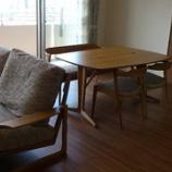 『高松市のマンションに日進木工のgeppoシリーズとクワヤのスイート・TVボードを納品』の画像