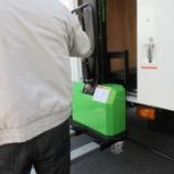 『免許不要で簡単操作、重たい荷物の積み下ろしに、『イノリフト』をご検討ください!』の画像