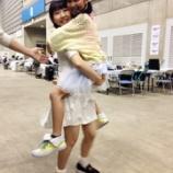 『抱っことおんぶが似合う今村麻莉愛ちゃん◎かわいい』の画像