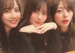 【衝撃】岩本蓮加&梅澤美波&佐藤楓、キレイなお姉さん感がハンパない・・・!
