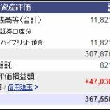 『週末(6月10日)の保有資産。3億6755万0387円』の画像